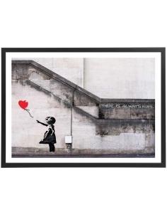 Banksy - La petite fille au...