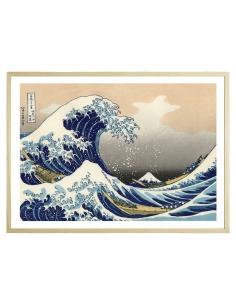 La vague de Kanagawa 70 x...