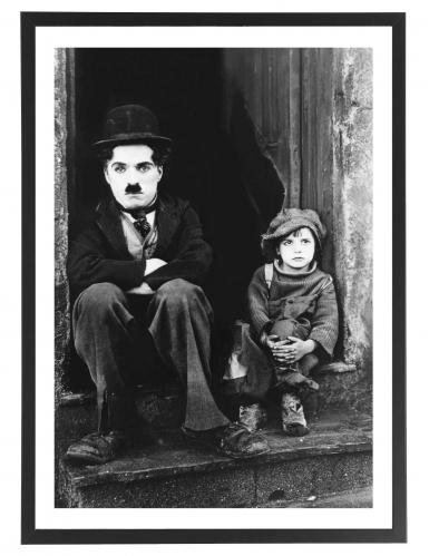The Kid - Charlie Chaplin 50 x 70 cm