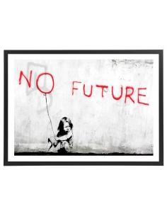 Banksy - No future 70 x 50 cm