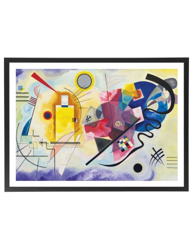 Kandinsky - jaune rouge bleu