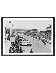 Le Mans 1954 - Départ 70x50 cm